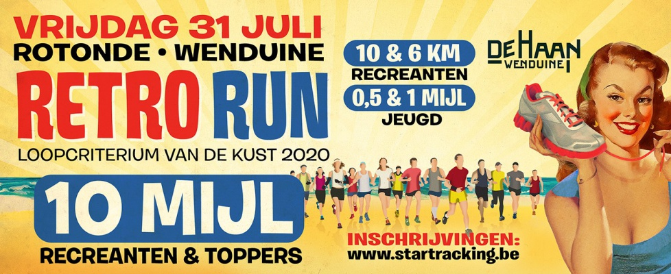 Retro Run Wenduine – Loopcriterium van de Kust 2020